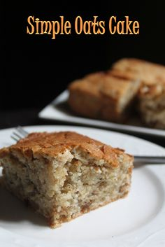 YUMMY TUMMY: Simple & Easy Oats Cake Recipe