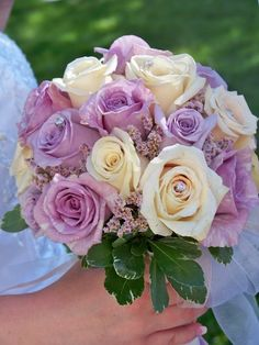Love the soft vintage tones! Ocean Song Roses, Quick Sand Roses, Stranger Roses Designed By Summer Thyme Floral In McConnellsburg, Pa