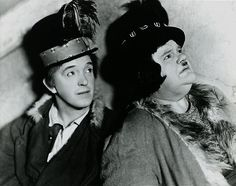 """Laurel and Hardy in """"The Bohemian Girl"""" Talking Film 1936"""