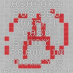 ASHFORD BUS 250 Week 1 Case Study A Brawl in Mickey's Backyard 1