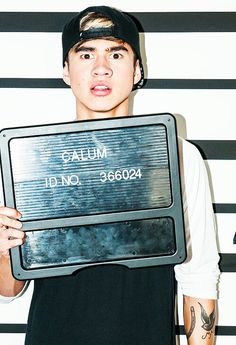 Calum looks even more perfect than normal in the Good Girls video