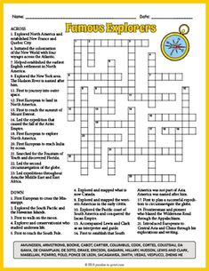 137 Best Crosswords for Kids images in 2019 | Printable ...