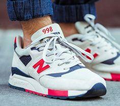 New Balance 998 blancas
