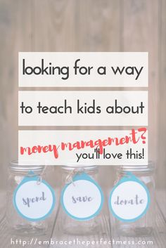 When it comes to teaching kids about money management, these DIY mason jar banks are perfect!
