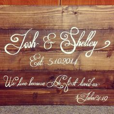 Wooden sign. Hand painted. Wedding. Mementos. by CraftinAttic, $120.00
