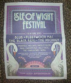 2015 Fleetwood Mac Isle Of Wight Festival Concert Newspaper Ad Stevie Nicks  from $9.99 Groove Armada, Jessie Ware, Isle Of Wight Festival, Counting Crows, Billy Idol, The Black Keys, Kool Aid, Pharrell Williams, Fleetwood Mac