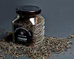 """""""Going back to when things were simple. Forager paleolithic teas are made for the modern day hunter gatherer. Inspired by nature, Forager is a fictitious company specializing in only the finest teas. Each blend of tea is represented by a different organic pattern, and symbol."""""""