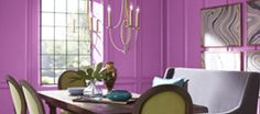 PANTONE Color of the Year 2014 - Radiant Orchid 18-3224 in your home!  Pantone Universe Paint by Valspar available at @Barbara Whitlow Bills McAfee's!