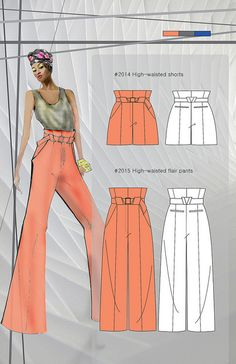 The fashion design portfolio of FIDM Fashion College student Lee Dahye explores the idea of a hexagon twist. fidm.edu/en/Majors/Fashion+Design/     mg