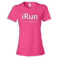 iRun Women's short sleeve t-shirt
