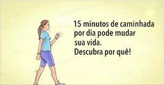 Caminhar 15 minutos por dia vai mudar sua vida - aqui está como! | Cura pela Natureza