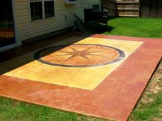 Stained Concrete Outdoor Patio Ideas | Customize Cement Floors, Driveways, Patios, Walkways, and Pool Decks ...