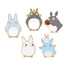 🌸 Kawaii Set Of 5 pins Miyazaki studio ghibli mon voisin totoro 🌸 Pins On Denim Jacket, Girls Jewelry, Jewelry Sets, Jewelry Accessories, Decorative Accessories, Girls Anime, My Neighbor Totoro, Hayao Miyazaki, Cloth Bags