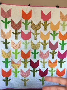 Spring time quilt! Created by Critterbug Creations Karen Olsen