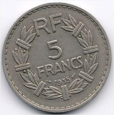France 5 Francs 1935 Veiling in de Frankrijk,Europa (niet of voor €),Munten,Munten & Banknota's Categorie op eBid België