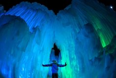 The beautiful Ice Castles are back in Minnesota and they open tomorrow at Miller Park in Eden Prairie. Stroll through the unique ice formations and enjoy live entertainment from fire dancers and meet your favorite ice princesses: http://icecastles.com/ep/ #OnlyinMN