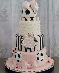 Soccer Girl Cake