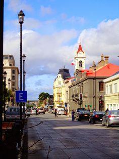casa d egobierno, iglesia, punta arenas, region magallanes, chile, patagonia.