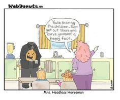 Humorous Halloween Cartoons | Halloween Cartoon 2 | Webdonuts Webcomics