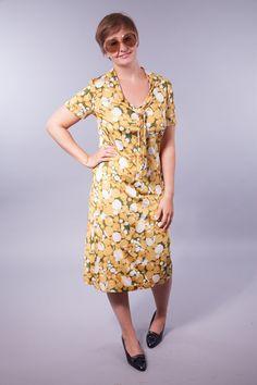 Verbotene+Frucht+-+Vintage+70's+Kleid+von+VintageKollektiv+auf+DaWanda.com