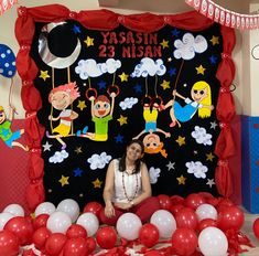 Classroom Bulletin Boards, School Decorations, Backdrops For Parties, Christmas Crafts For Kids, Murals, Birthday, Baby Dolls, Christians, Manualidades