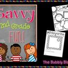 Just a little fun, to get the first week of second grade off to a great start.  This unit was fully updated on 6/17/2013!  -All About My Summer Pos...