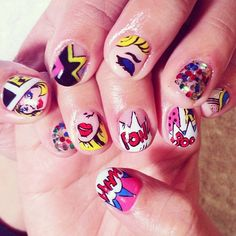 55 Comic Book Nail Designs #ultacomicbook