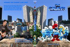 Smurfs Custom DVD Cover