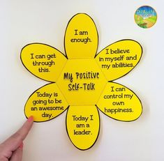 Positive Self Talk Flower Craft Positive Self Talk Flower Craft,Chelsy Related posts:The Right and Wrong Motivations for Teaching Character {a. What Does It Mean to Teach Character Awesome Biblical Resources for Teaching Character. Social Emotional Activities, Self Esteem Activities, Emotions Activities, Social Skills Lessons, Social Skills Activities, Teaching Social Skills, Counseling Activities, Coping Skills, Life Skills