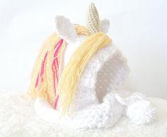 Magical Unicorn Crochet Hat