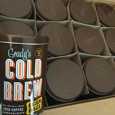 """""""Thanks for the cold brew recommendation @allihagendorf ! Got my first batch in the fridge! No: cold brew does not equal cold hot-brewed coffee. It's made…"""""""