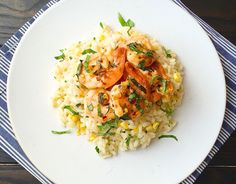 Sweet Corn and Shrimp Risotto