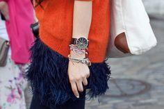 Bracelet Party - LFW Street Style