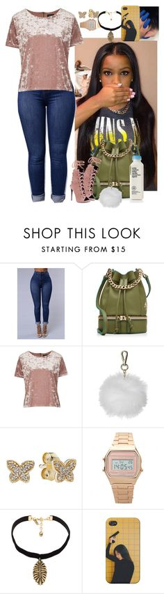 """""""Untitled #3747"""" by astoldby-kay ❤ liked on Polyvore featuring MANU Atelier, Topshop, Pandora and Vanessa Mooney"""