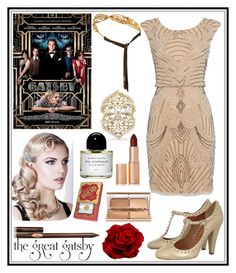 """""""🌹""""You are a rose , and absolute rose!""""🌹"""" by haybeebaby on Polyvore featuring Raishma, Allurez, Gatsby, Madina Visconti di Modrone, Byredo, Charlotte Tilbury and Nearly Natural"""
