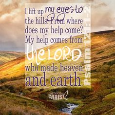 The maker of heaven and earth....