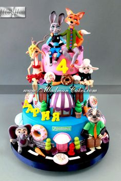 Zootopia Cake - Cake by MLADMAN