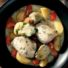 A Greek Chicken and Vegetable Diabetic Friendly, Slow Cooker Stew