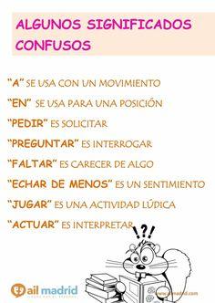 ¡Atención a estos verbos y preposiciones que pueden causar confusión!