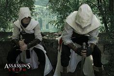 Assassins Creed - Two Assassins in Jerusalem by KejaBlank