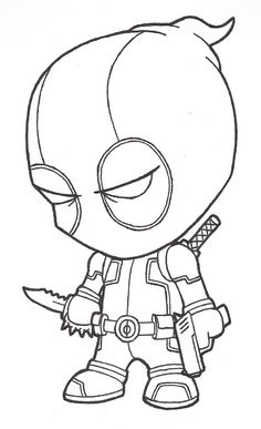 Drawings Of Cool Drawings Cool drawings of deadpool