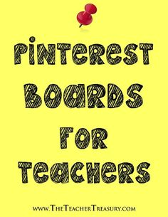 Pinterest Boards for Teachers - These blog posts link to hundreds of educational boards for teachers to find free and affordable resources for their students. #pinteresting #teachers #education