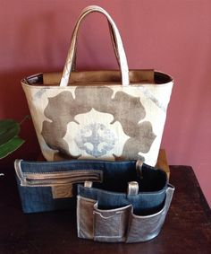 Ha-na By Atsuta Manufacture de Sacs Organiser, Tote Bag, Bags, Fashion, Fabric Bags, Fabrics, Leather, Handbags, Moda