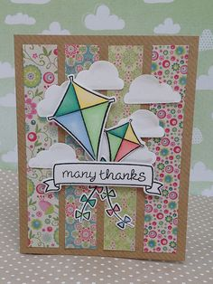 Lawn Fawn - Sunny Skies, Home Sweet Home _ lovely card by fifi100479 _  | Flickr - Photo Sharing!