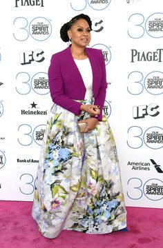 Ava DuVernay | All The Looks From The 2015 Independent Spirit Awards