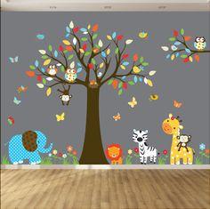 Nursery Wall Decals Baby Wall Decal Kids Wall by wallartdesign