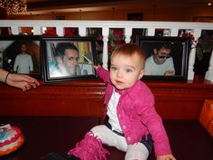 You're with her for her 1st birthday party. I wish you really were.  I miss you horribly.