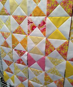 Work In Progress - Baby Quilt | Fabric Spark