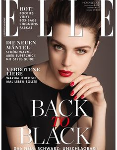 ELLE Germany, November 2015