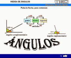 MilagroTIC: TEMA 5 - MATEMÁTICAS - 6º - LOS ÁNGULOS Y SU MEDIDA - SISTEMA SEXAGESIMAL - SUMA Y RESTA DE ÁNGULOS - ÁNGULOS COMPLEMENTARIOS Y SUPLEMENTARIOS - ÁNGULOS DE MÁS DE 180º - (Tema completo)